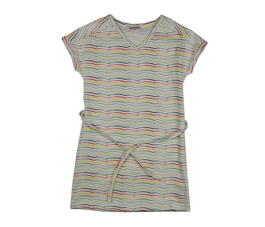 V-Neck Kids Dress Stripes – Bild 1