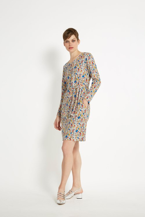Peter Jensen Jewel Tie Waist Dress in Multi colour – Bild 4