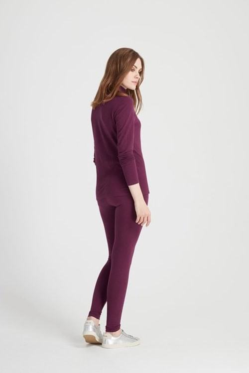 Leggings Plum – Bild 2