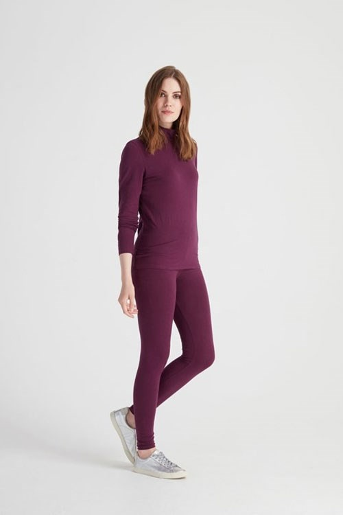 Leggings Plum – Bild 3