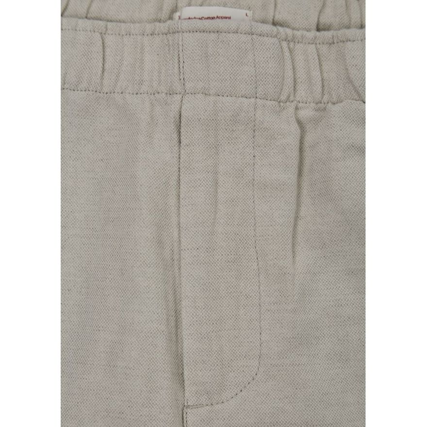 Loose Pant with string inside waist GOTS Feather Grey – Bild 3