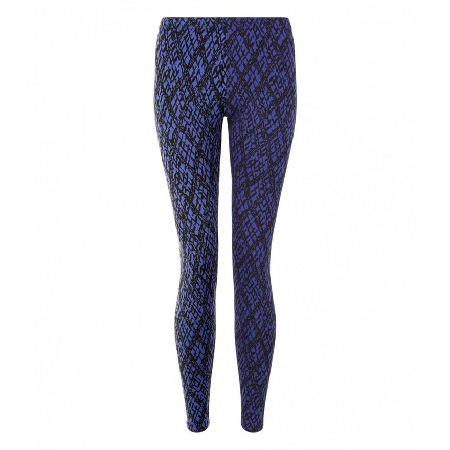 Printed Leggings blue