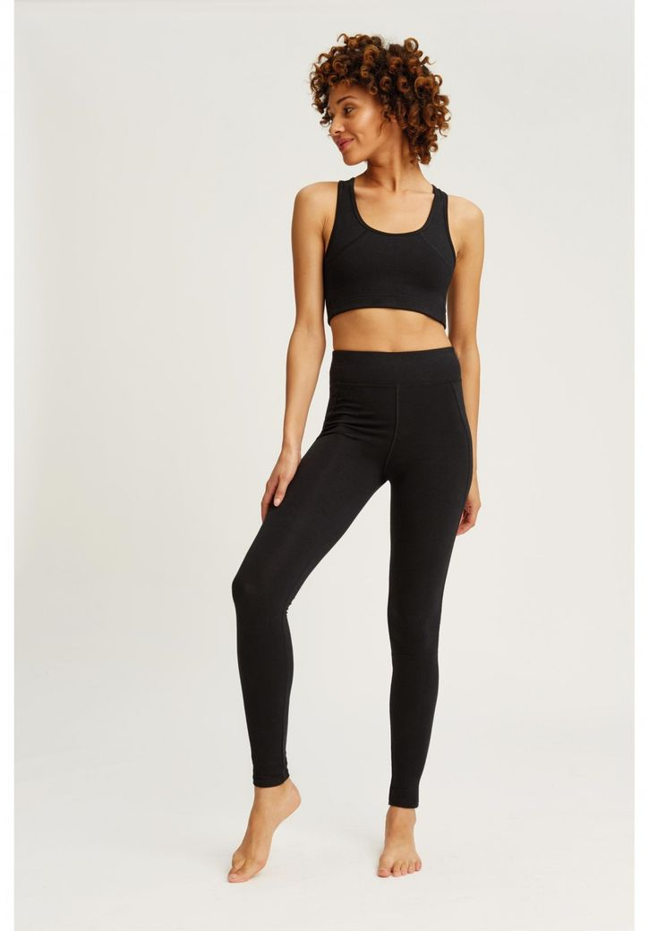 Yoga Leggings black – Bild 4