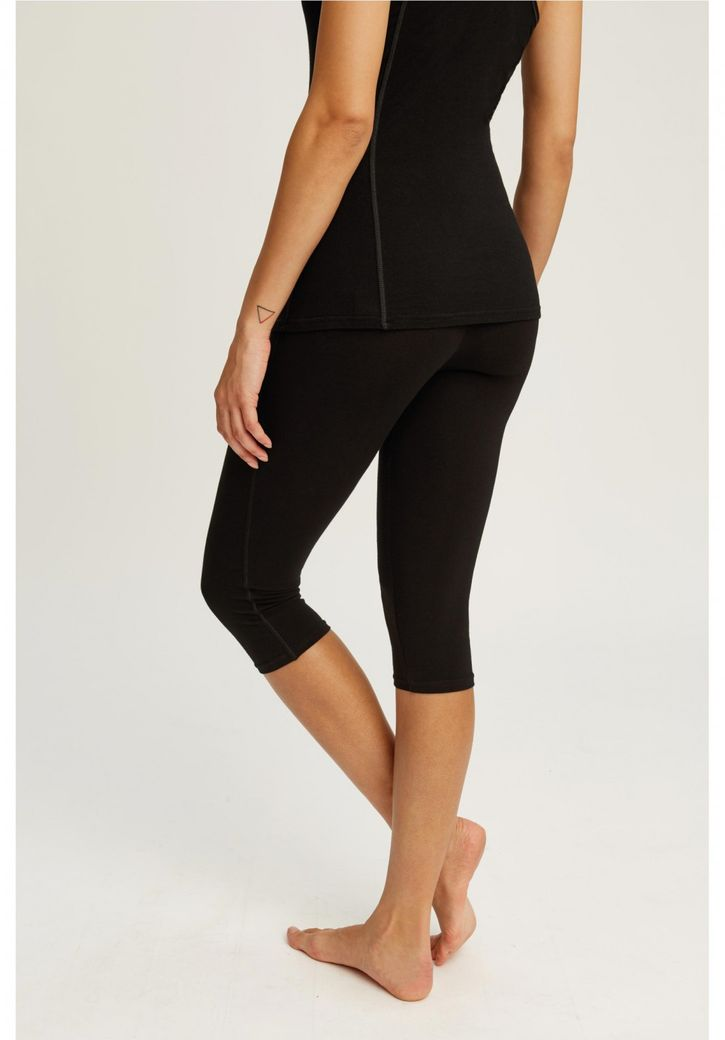 Yoga Cropped Leggings – Bild 2