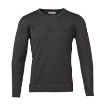 Basic Round Neck Dark Grey