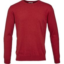 Basic O-Neck Cashmere / Cotton Red 001