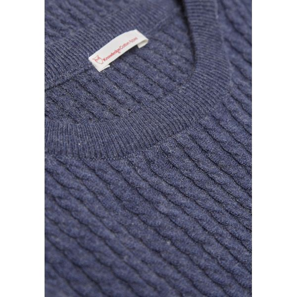 Cotton/Cashmere Cable Knit - GOTS – Bild 2