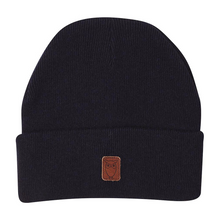 Beanie organic wool - GOTS Total Eclipse 001