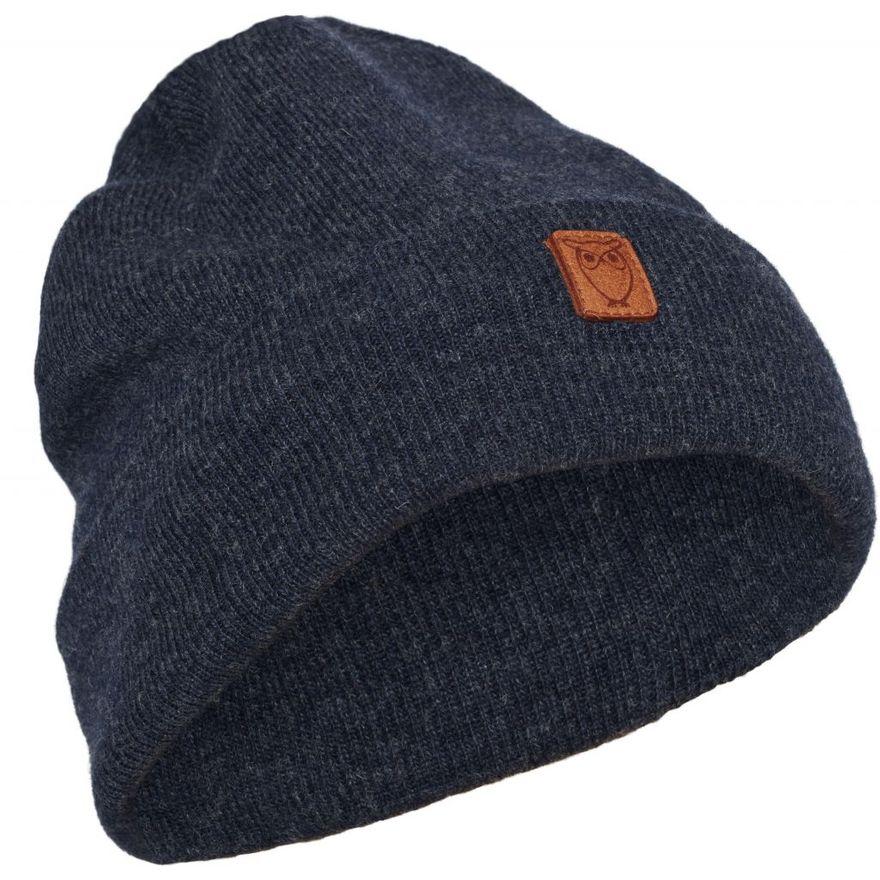Beanie organic wool - GOTS Insigna Blue