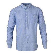 Button Down Oxford Limoges