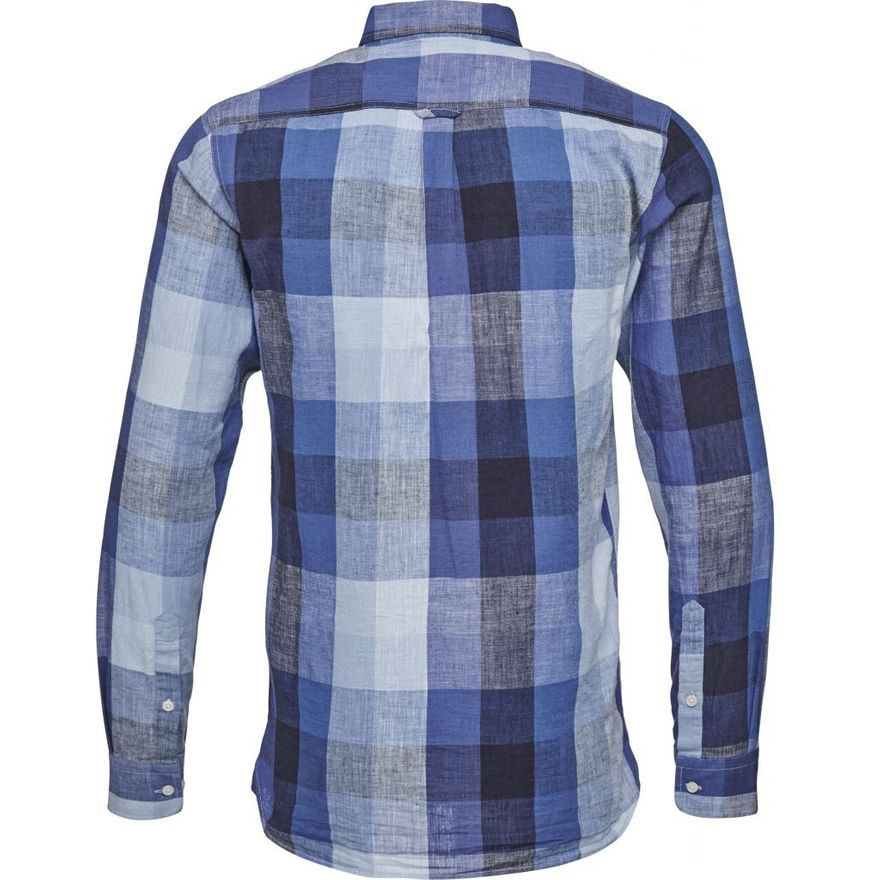 Linen Checked Shirt GOTS – Bild 4