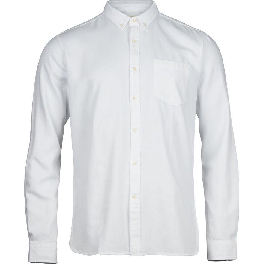 Twill Shirt Vegan Bright White