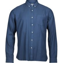 Twill Shirt Vegan Insigna Blue 001