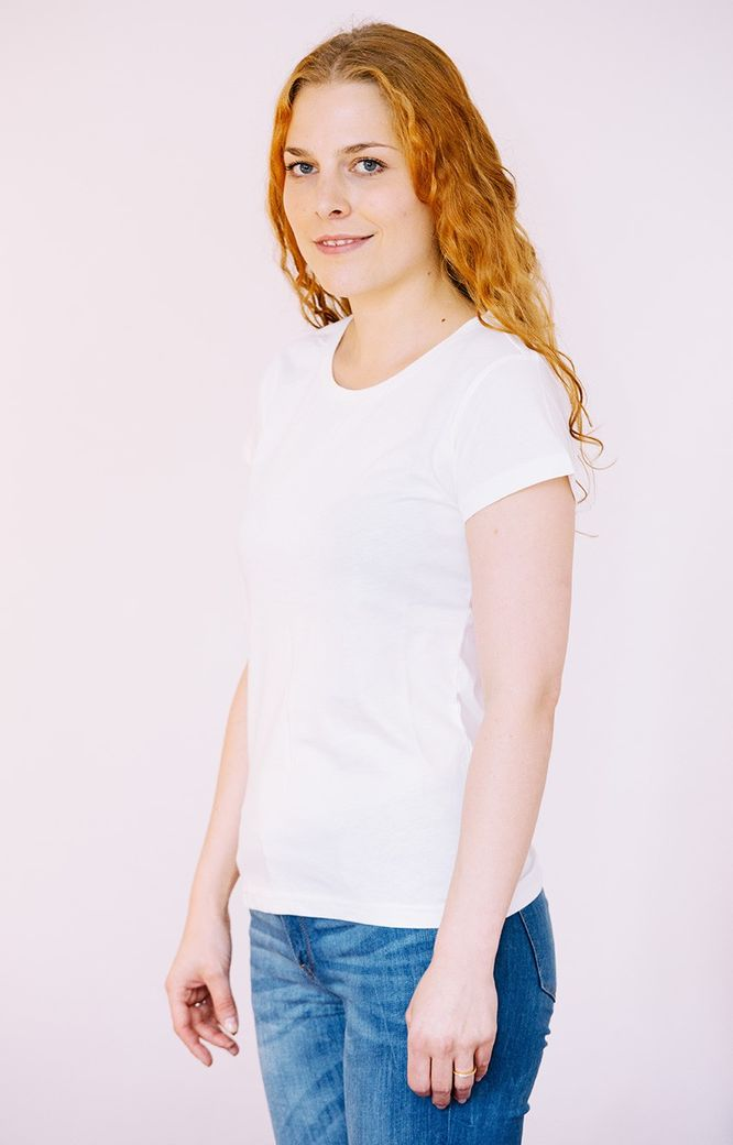 T-Shirt Women white – Bild 1