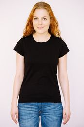 T-Shirt Women black 001