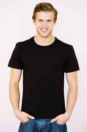 T-Shirt Men black 001