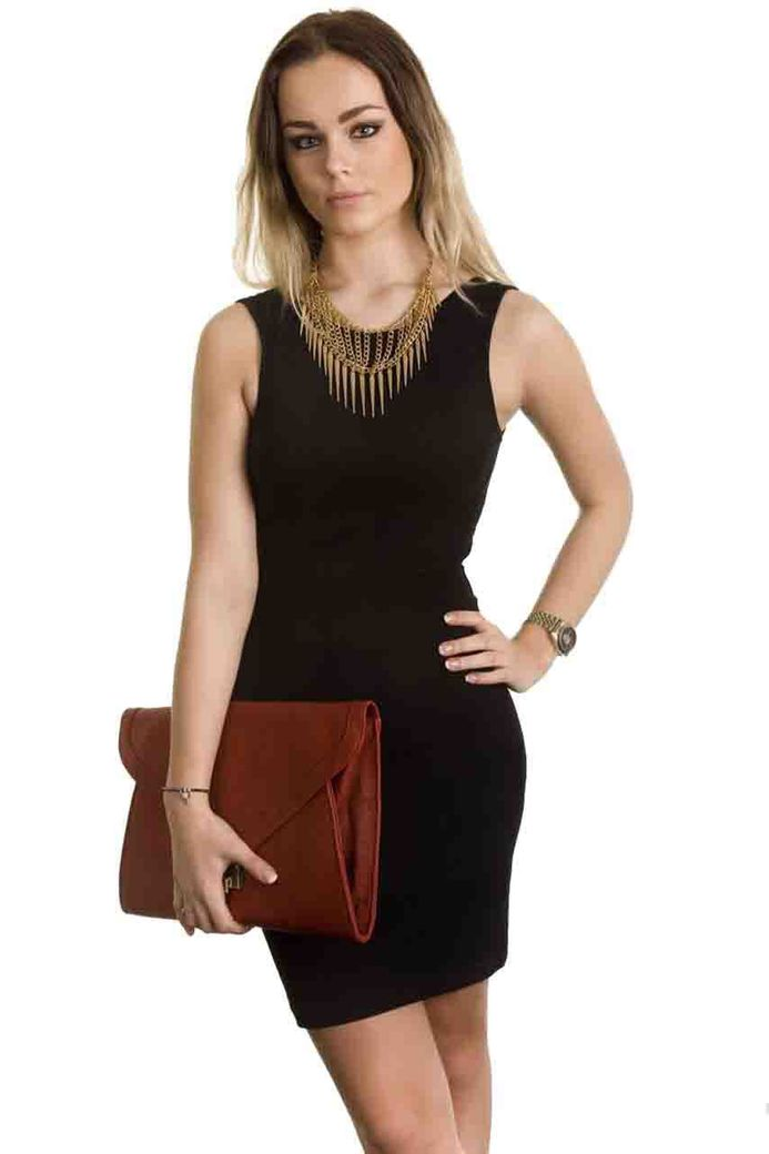 CLEO BODYCON BLACK – Bild 1