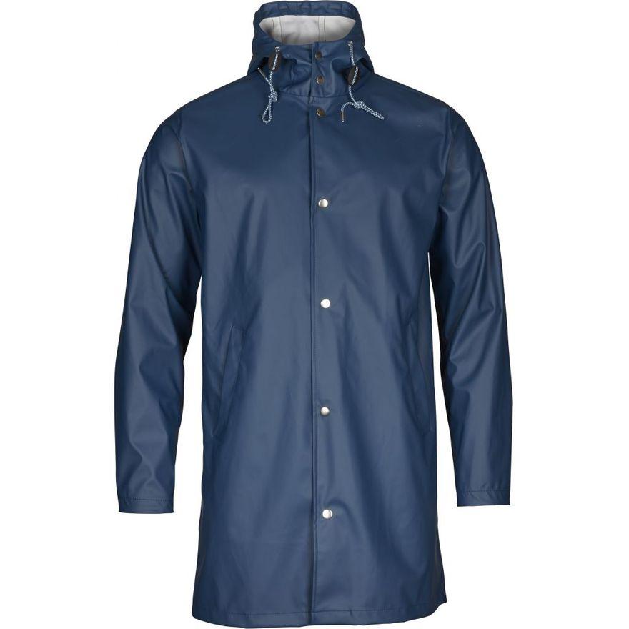 Long Rain Jacket Vegan Insigna Blue