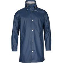 Long Rain Jacket Vegan Insigna Blue 001