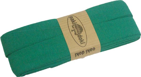 3m Jersey-Schrägband 40/20mm Nr. 450 Smaragdgrün – Bild 1