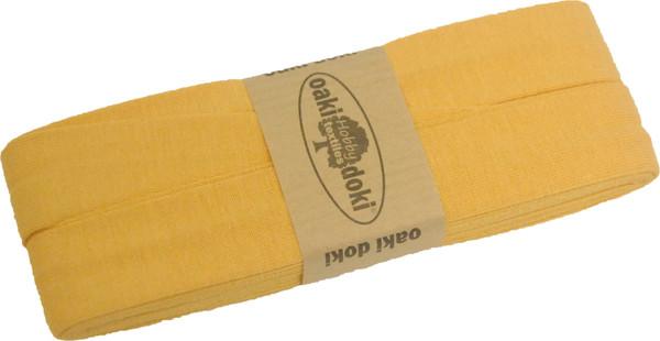 3m Jersey-Schrägband 40/20mm Nr. 711 Senfelb – Bild 1