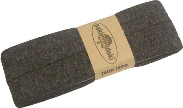 3m Jersey-Schrägband 40/20mm Nr.890 Anthrazit – Bild 1