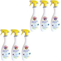 "6x Chante Clair Limone ""Sgrassatore universale"" Superpotente, 750ml"