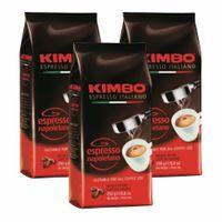 "3x Kaffee gemahlen Kimbo Caffé ""Espresso Napoletano"", 250 g"