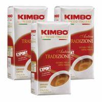 "3x Kaffee gemahlen Kimbo Caffé ""Antica Tradizione"", 250 g"