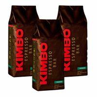 "3x Kaffeebohnen Kimbo Espresso Bar ""Premium"", 1000 g"
