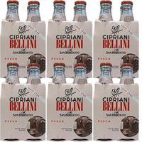 """6x Cipriani """"Bellini"""" aus püriertem Pfirsichfruchtfleisch, 4x 180 ml inkl. Pfand"""