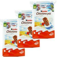 "3x Ferrero Kinder ""Colazione piu"" Küchlein, 10 x 29 g"