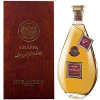 """Morandini Dal 1885 Grappa Amarone """"Luce D'Ambra"""" in Holzkiste, 1500 ml"""