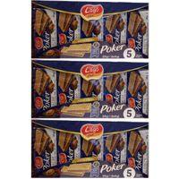 "3x Gastone Lago Elledi Poker Cacao ""Kakaowaffeln"", 5x 45 g"