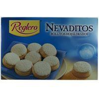 """Reglero Nevaditos """"Blätterteiggebäck mit Puderzucker"""", 400 g"""