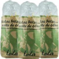 "3x Patatas Fritas Marisa ""Kartoffelchips mit Olivenöl"", 190 g"