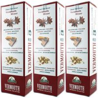 "3x La Barraca Vermouth Botanical Collection ""Wermut Mix"" 3 Uniqe Sensations, 3 Gewürzsorten"