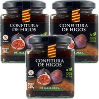 """3x Agromallorca Confitura de Higos """"Feigenmarmelade"""" aus Mallorca, 240 g"""