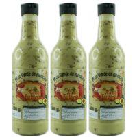 "3x Argodey Fortaleza Mojo verde de Aguacate ""grüne Mojosauce mit Avocado"" , 200 g"