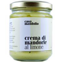 "Casa Mandolio Crema di mandorle al limone ""Zitronen-Mandel-Creme"", 190 g"