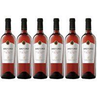 "6x Bodegas Muñoz ""Artero Tempranillo Rose"" Rosé Trocken, 750 ml"