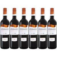 "6x Bodegas Lozano ""Añoranza Cabernet Shiraz"" Rotwein Trocken, 750 ml"