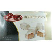 """La Ponderosa Hojaldradas """"Spanisches Weihnachtsgebäck"""" Blätterteiggebäck aus Spanien, 400 g"""