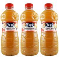 "3x Yoga Fruchtsaft fruit juice Multivitamin Saft ""italienischer Saft, 1000 ml"