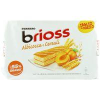 """Ferrero Kinder Albicocca e Cereali """"Brioss"""" Küchlein mit Aprikose und Getreide, 10 x 28 g"""