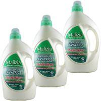 "3x Malizia Detersivo Lavatrice Waschmittel ""Muschio Bianco"", 1820 ml"