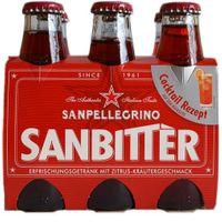 """SanPellegrino """"Sanbitter"""", 6x 98 ml"""