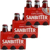 """3x SanPellegrino """"Sanbitter"""", 6x 98 ml"""