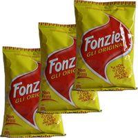 """3x Fonzies Gli Originali """"Maissnack mit Käsegeschmack"""", 40 g"""