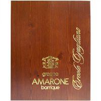 "Marcati Grappa ""Amarone Barrique"" in Holzkiste, 700 ml – Bild 2"